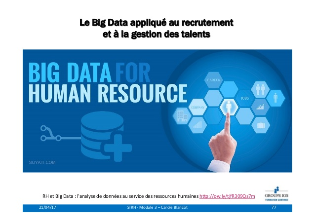 emploi teletravail big data