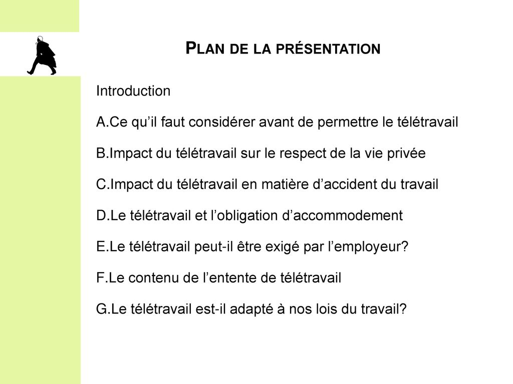 le teletravail introduction