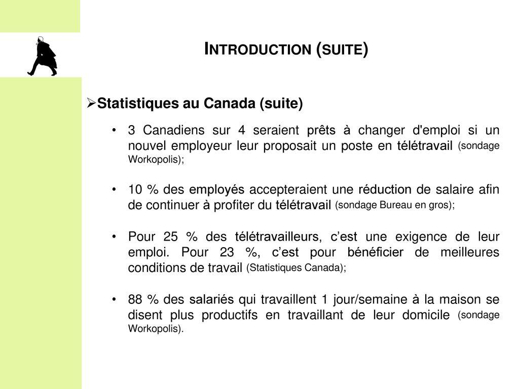offre d'emploi teletravail au canada