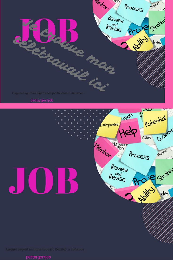 offre emploi teletravail administratif