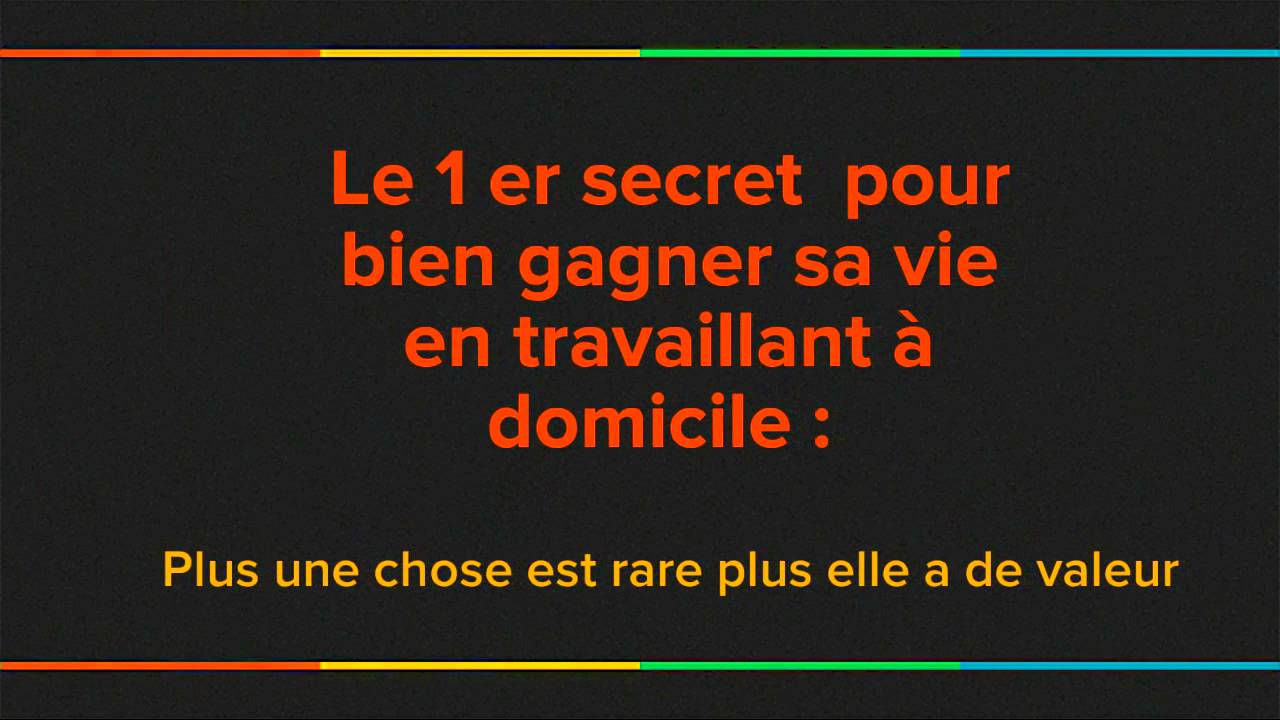 Image Result For Travailler Chez Soi Offre