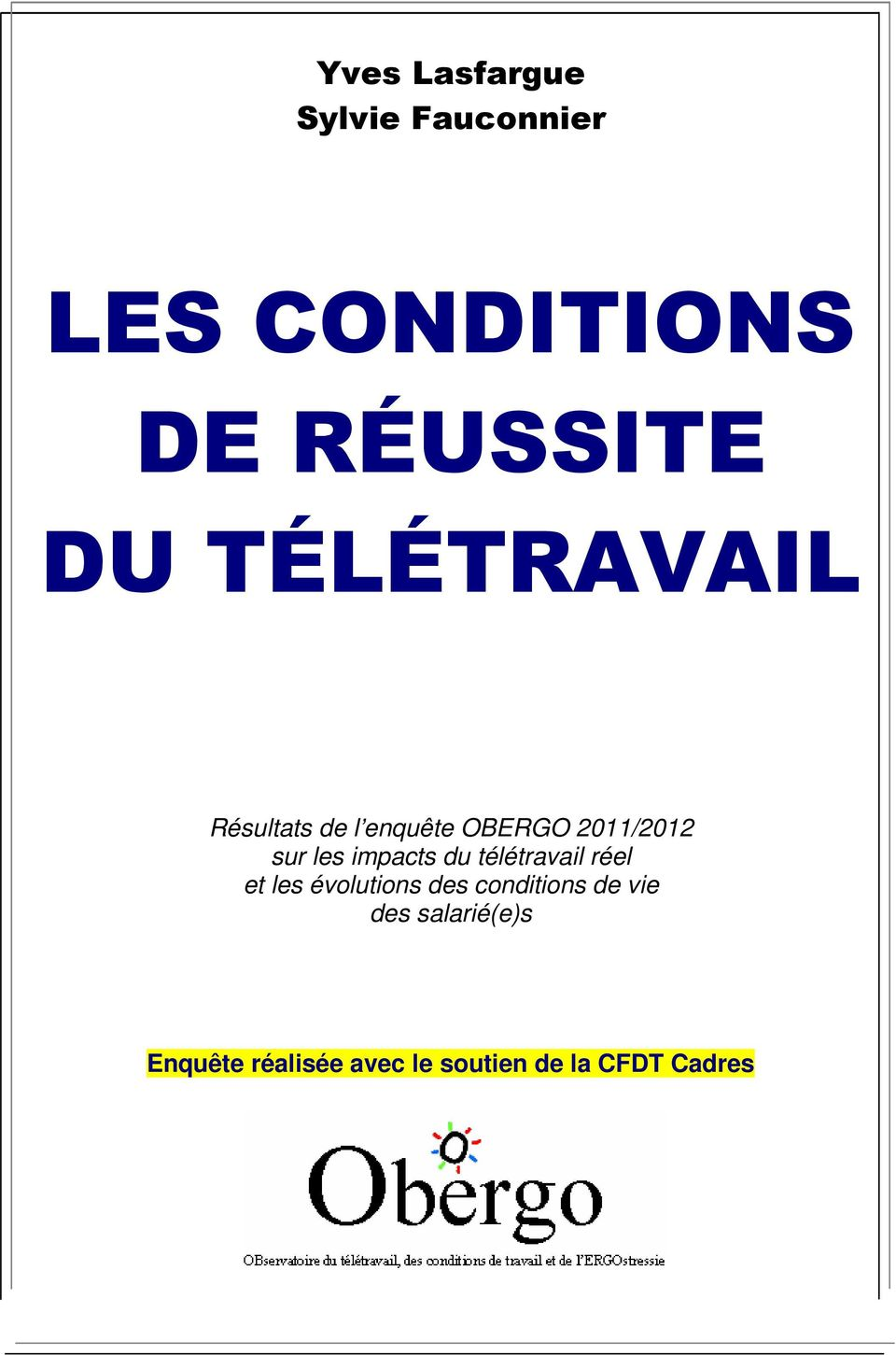 teletravail conditions