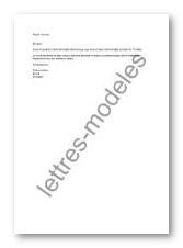 teletravail lettre demande