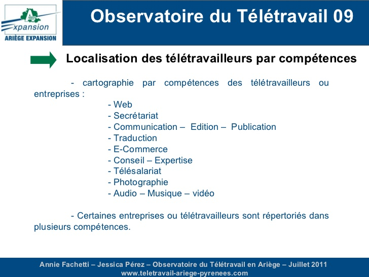 teletravail traduction