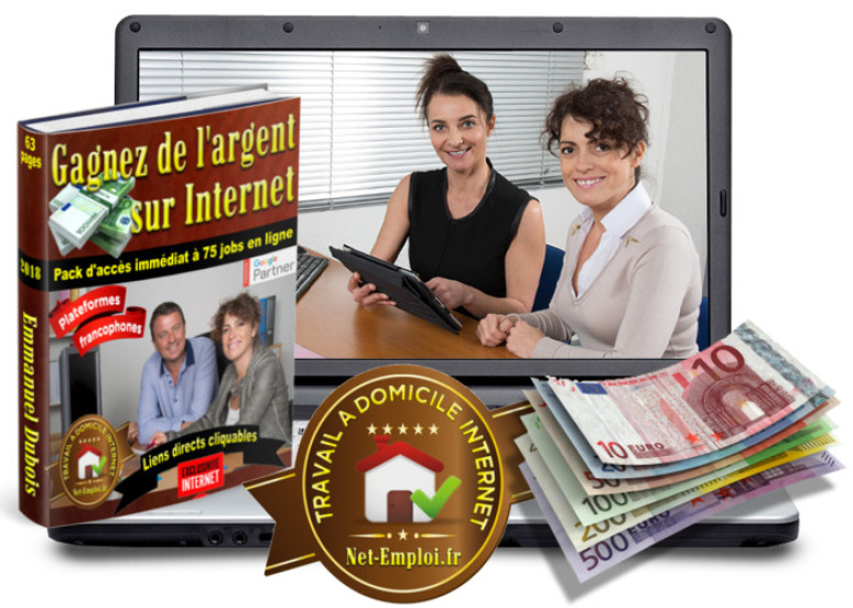 travail a domicile 100 euro par jour