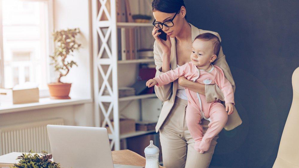 travail a la maison pour maman