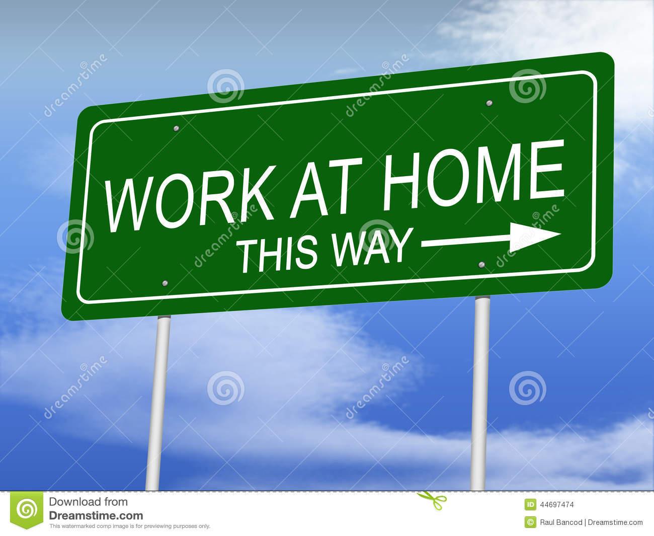 travail a la maison