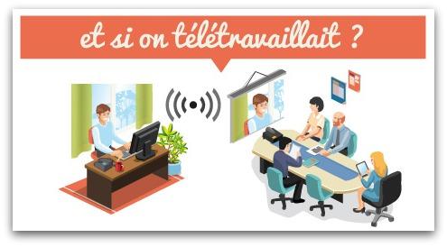 emploi de teletravail a domicile