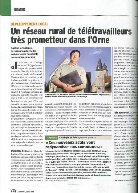teletravail gazette des communes
