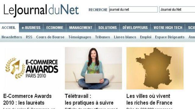 teletravail journal du net
