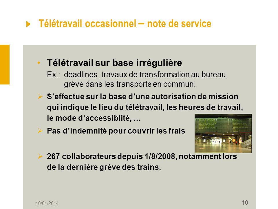 teletravail mission