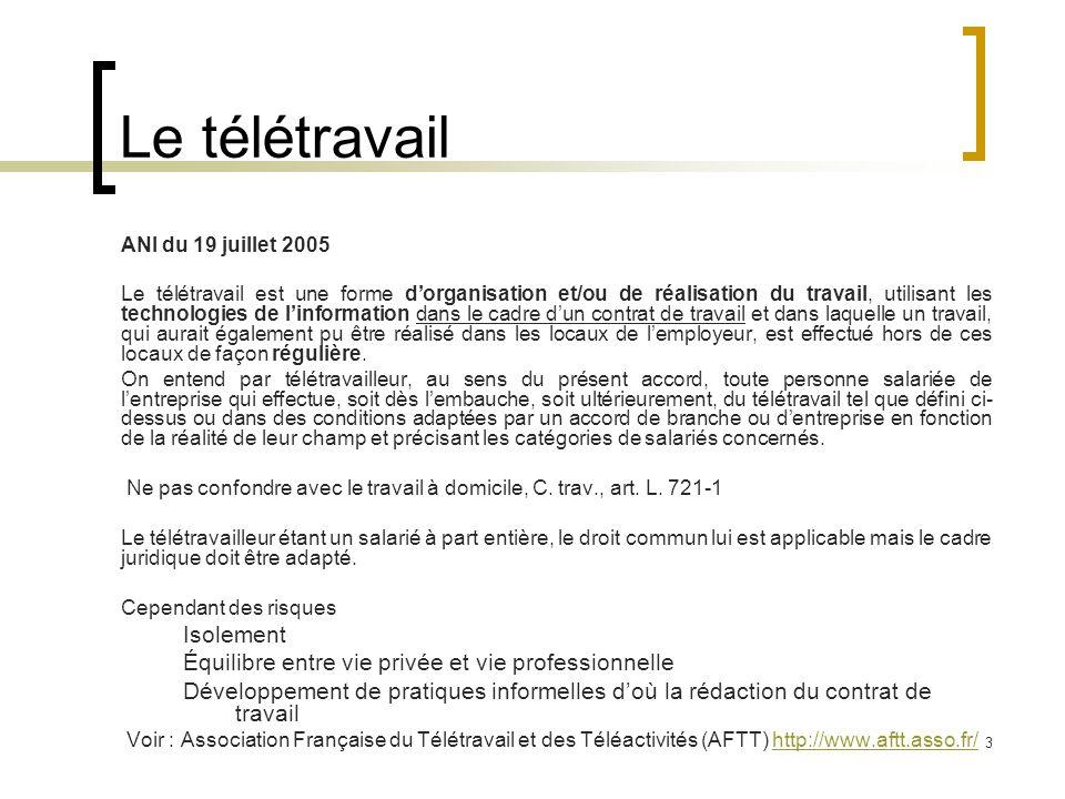 teletravail redaction