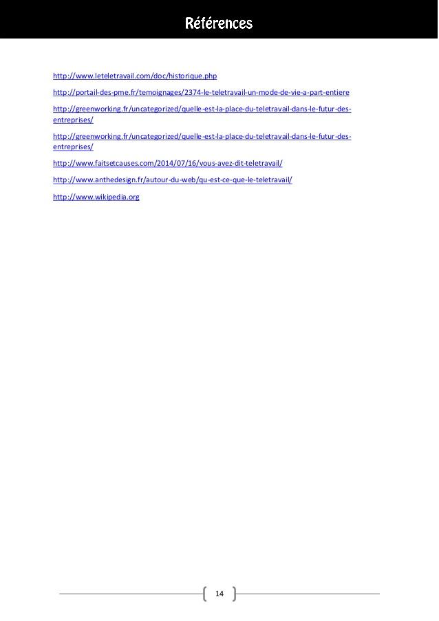 teletravail wiki