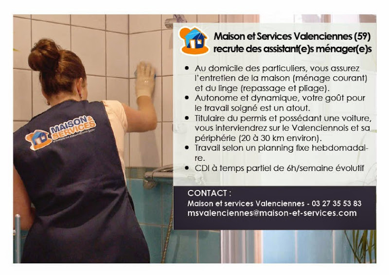 travail a domicile valenciennes