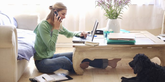 travail a la maison via internet